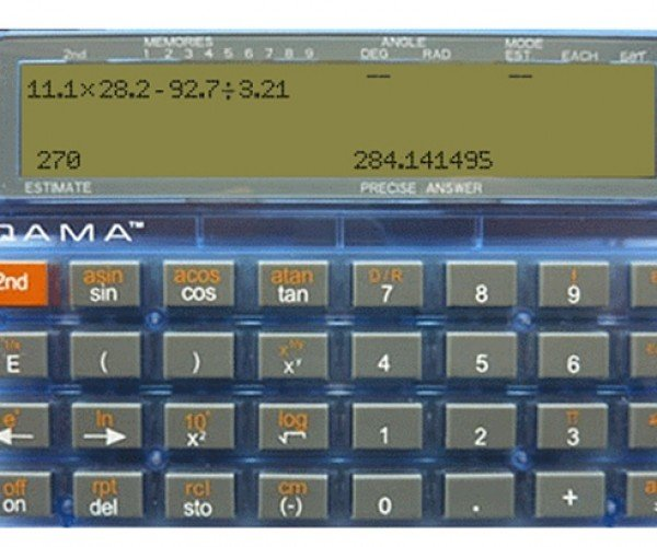 QAMA Calculator Only Gives You The Answer If You Provide a Good Estimate: Second Calculator Not Included