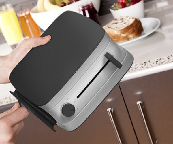 Collapsible Toaster Concept: For Extremely Cramped Kitchens