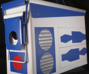 R2-D2 Ammo Box Perfect for Storing Spare Motivator Units