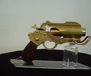 Rage + Steampunk + Laser = Awesome Pistol