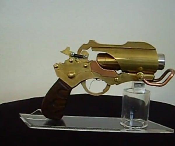Rage + Steampunk + Laser = Awesome Pistol