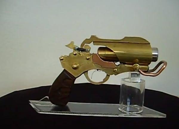 rage steampunk laser settler pistol