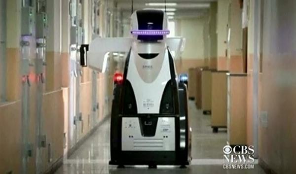 robot prison guard