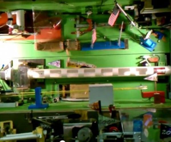 Rube Goldberg Machine Sets World Record