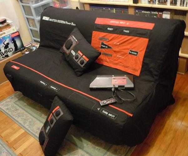 Sega Master System Sofa, Press Start to Sleep