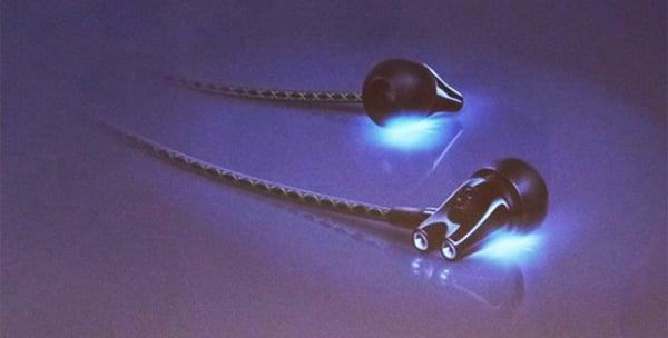 sennheiser ie 800 earphones glowing earbuds