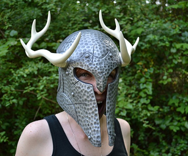 skyrim nord draugr helmet replica by volpin props 3
