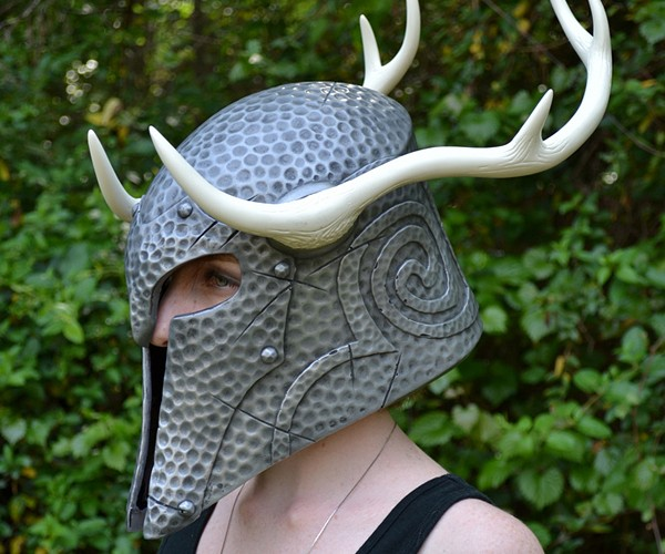 skyrim nord draugr helmet replica by volpin props 4