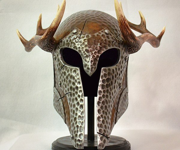 skyrim nord draugr helmet replica by volpin props