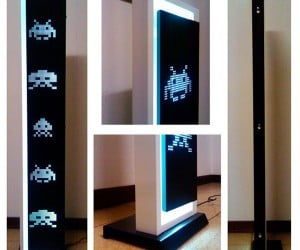 I Wish I Could Play this Space Invaders Floor Lamp
