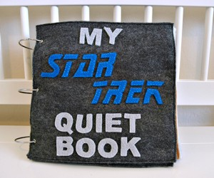 Star Trek Quiet Book: Shut Me Up, Mommy!