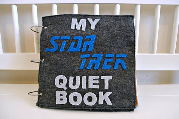 star trek quiet book by julie gillrie