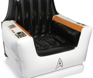 Inflatable Star Trek Captain's Chair Is Perfect for Little Captains