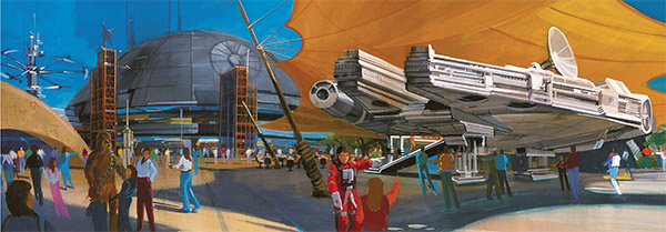 star wars land disney concept