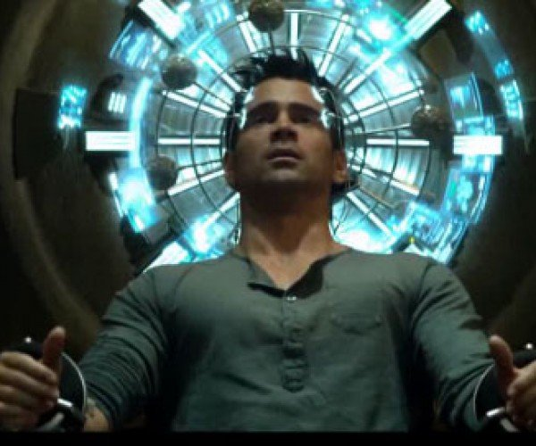 Full Colin Farrell Total Recall Trailer Surfaces and the Movie Might Not Suck