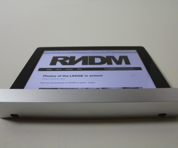 Ledge iPad Wall Mount: Minimal, But Useful