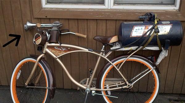 train horn bike