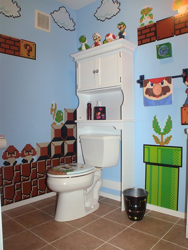 video game bathroom 1