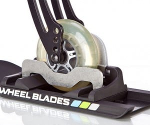 Wheelblades Help Wheelchairs Tackle Snow and Ice