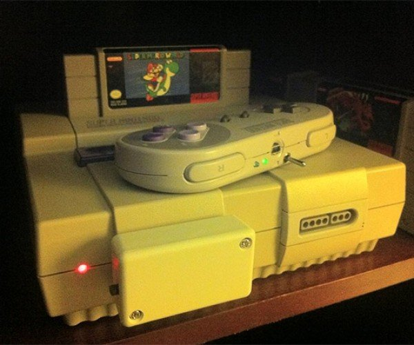 Wireless Super Nintendo Controller Mod, Old School Meets New School