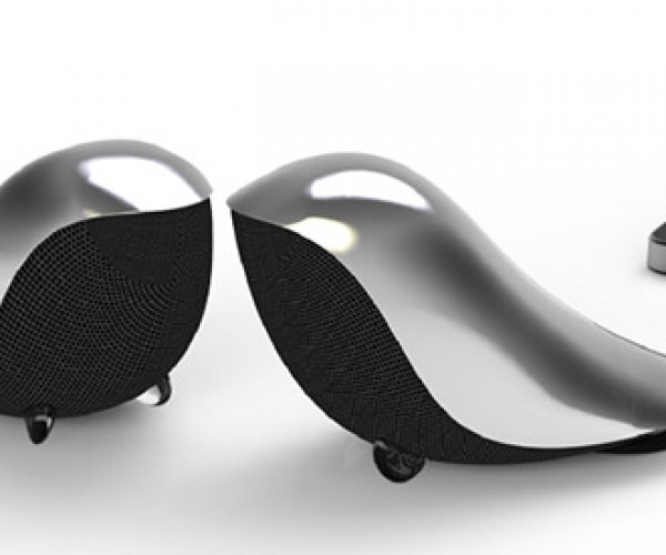 Wrenz Portable Bird Speaker is All Tweeter, No Woofer