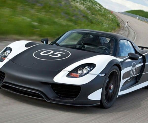 199 MPH Porsche 918 Spyder Hybrid Gets 78 MPG, Empties Wallets