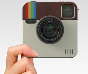 Instagram Socialmatic Camera: If Instagram and Polaroid Had a Love Child