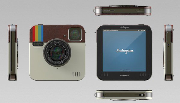 Instagram socialmatic camera all sides