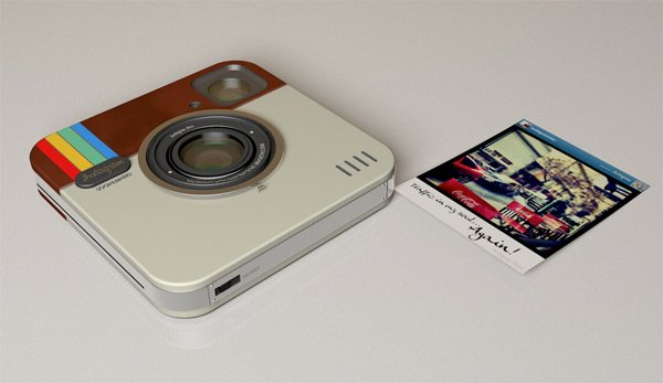 Instagram socialmatic camera front