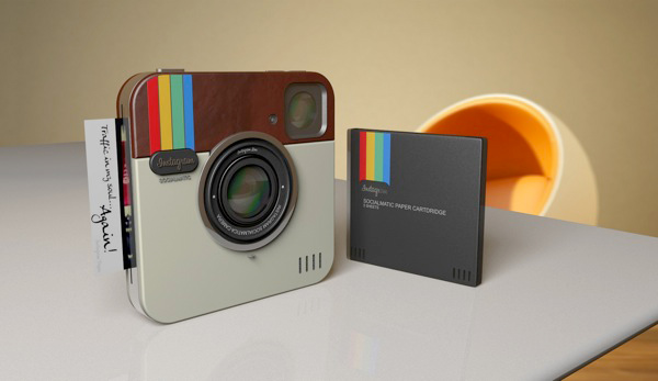 instagram socialmatic camera app concept