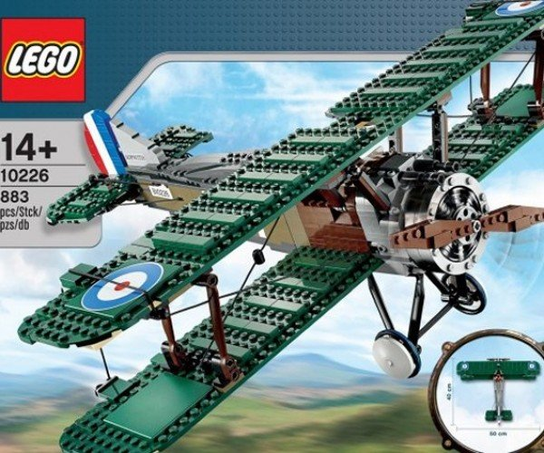 LEGO Unveils Amazing Sopwith Camel Model: Is the Red Baron Far Behind?