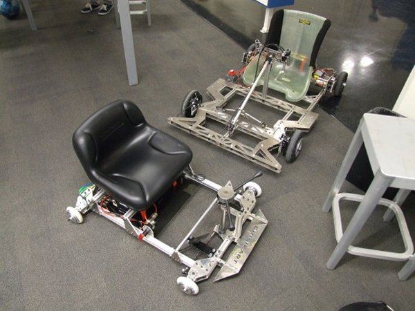 Pedal Powered Slot Car Race Diy