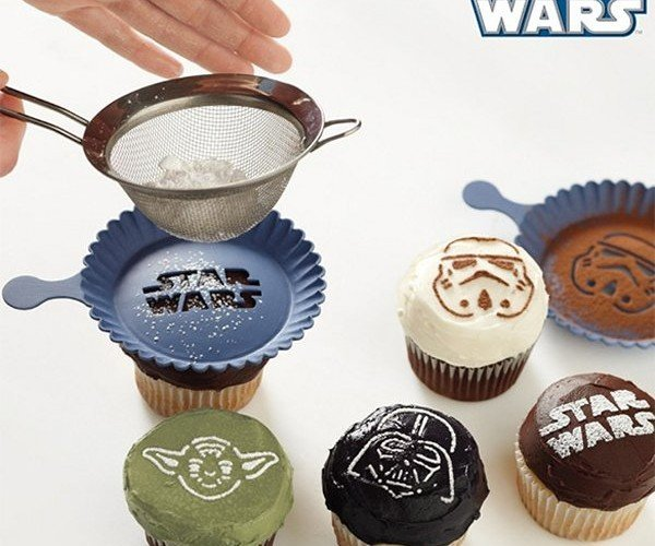 Star Wars Cupcake Stencils: May the Frosting Be with You