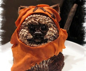 Ewok Cake Has Cute and Fuzzy Body, Eyes That Look Like Abysses of Despair