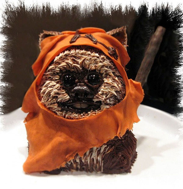 star wars ewok cake