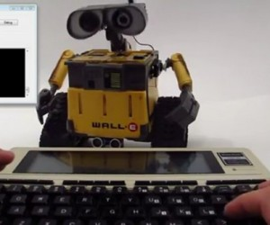 2012 Wall-E Toy Controlled by a 1983 Portable Computer