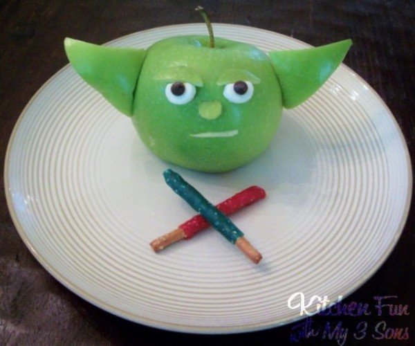 Turn Apples into Master Yoda, You Will