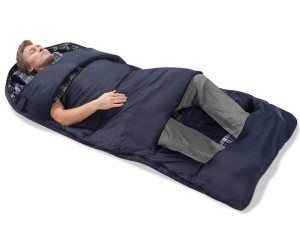 Zippered Vents on this Sleeping Let You Catch Some Cool and Comfy Zzz's