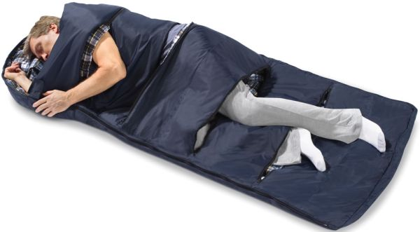 Zippered Vent Sleeping Bag1
