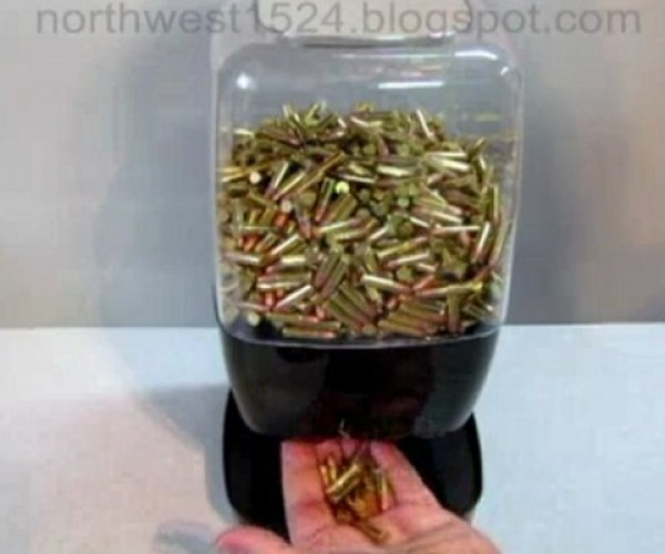 Motion Sensing Ammunition Dispenser Doles out Bullets Like Bubblegum