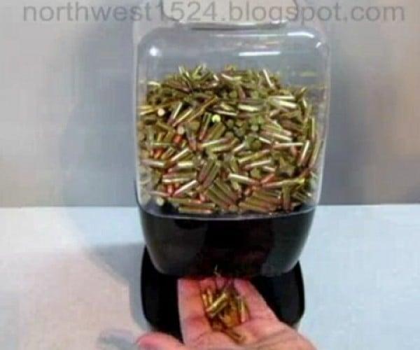 Motion Sensing Ammunition Dispenser Doles out Bullets Like Bubblegum