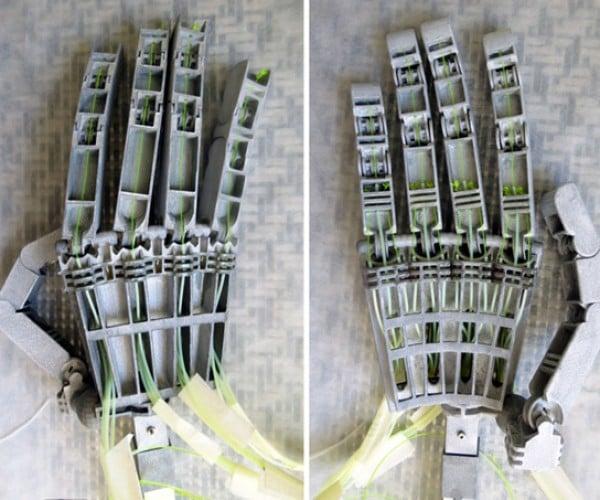 Anthromod MK2 3D-Printed Robotic Hands: Terminators Set to Arise Next Year