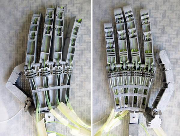 anthromod 3d-printed articulated robotic hand