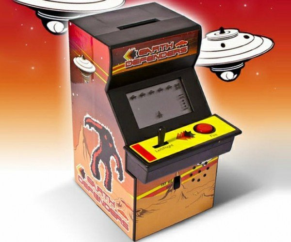 Arcade Piggy Bank: Change Invaders