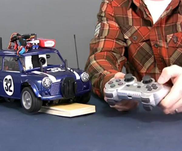 Arduino WiFly Mini: Real Virtual Racing