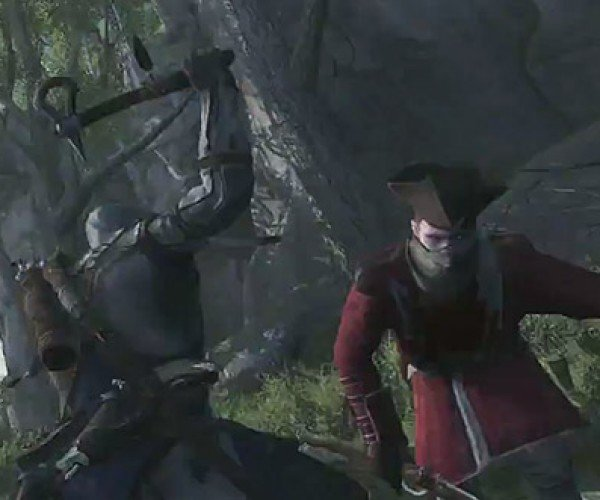 New Assassin's Creed III Gameplay Footage is Full of Redcoats and a Bear