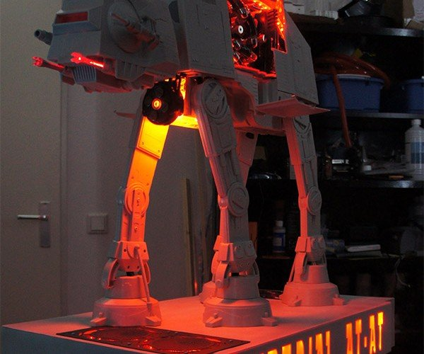 AT-AT PC Casemod is Cooler Than Hoth
