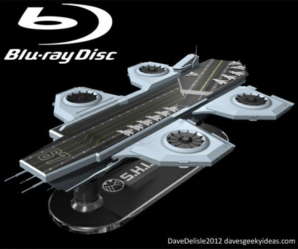 Marvel Should Steal This Avengers Helicarrier Blu-Ray Case Concept