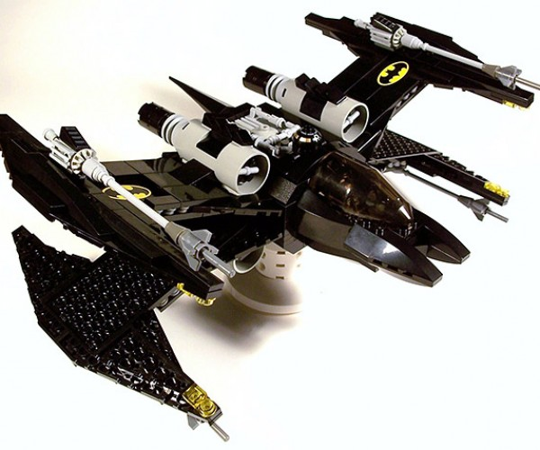 LEGO Batman X-Wing Fighter: The Dark Night Meets the Light Side of the Force