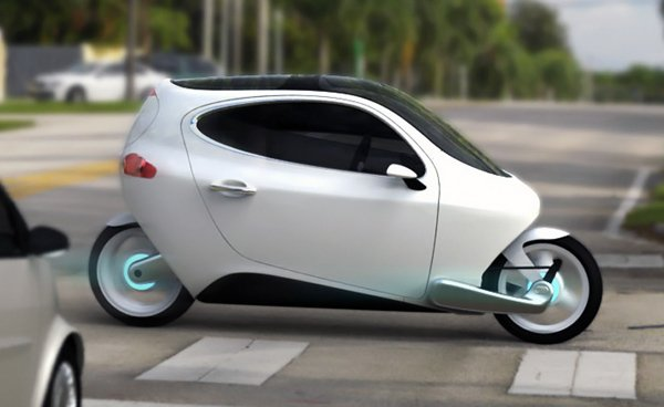 c 1 lit motors scooter electric roof